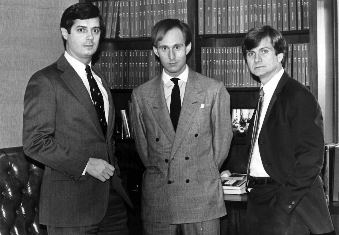 Roger Stone, Paul Manafort And Donald Trump Go Way Back